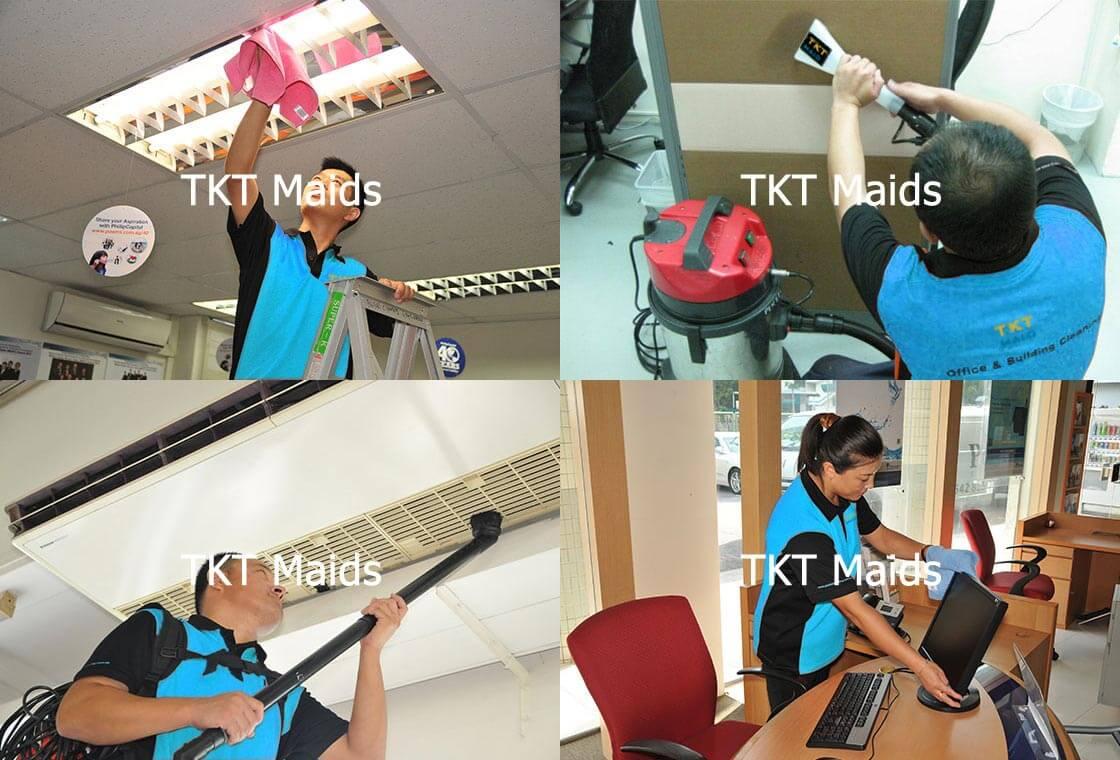 công ty tạp vụ vệ sinh TKT Maids