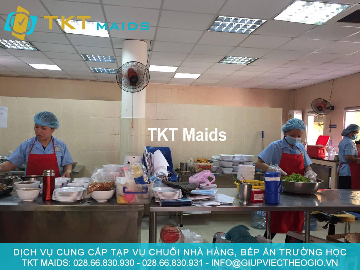 Cung cấp tạp vụ rửa chén nhà hàng quận Phú Nhuận