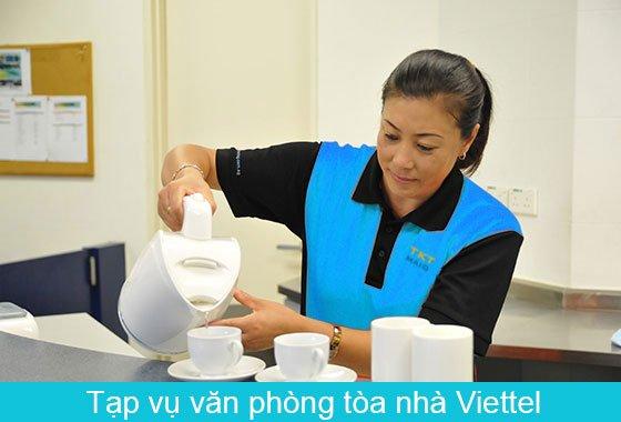 dịch vụ tạp vụ tòa nhà Viettel