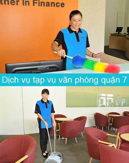 dịch vụ tạp vụ văn phòng quận 7
