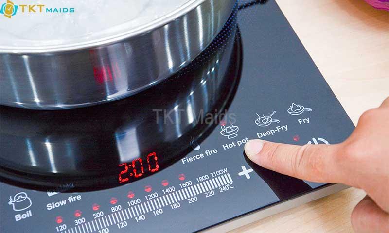 Hình ảnh: hướng dẫn sử dụng và vận hành bếp điện từ