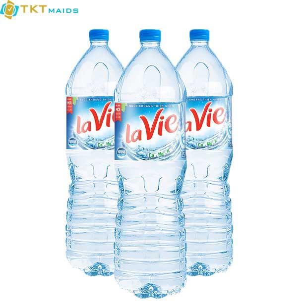 Hình ảnh: lavie chai nhựa PET