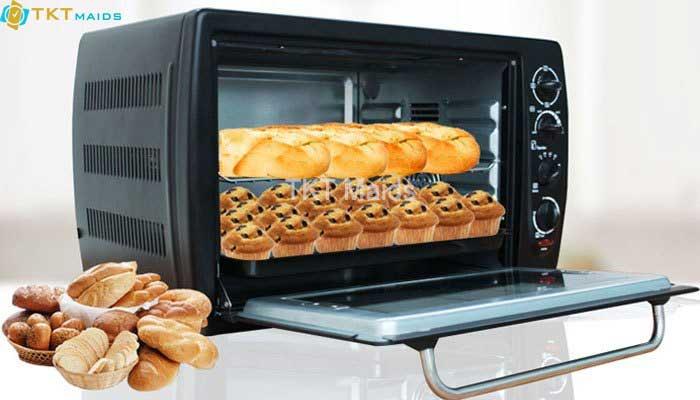 Hình ảnh: Lò nướng bánh, không sử dụng để sấy khăn, quần áo...