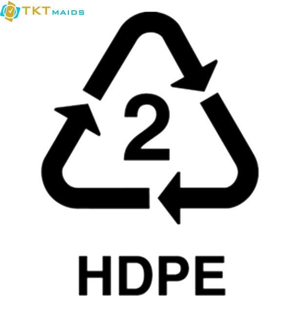 Hình ảnh: nhựa loại 2 HDPE