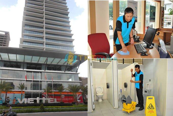 Tạp vụ văn phòng tòa nhà Viettel