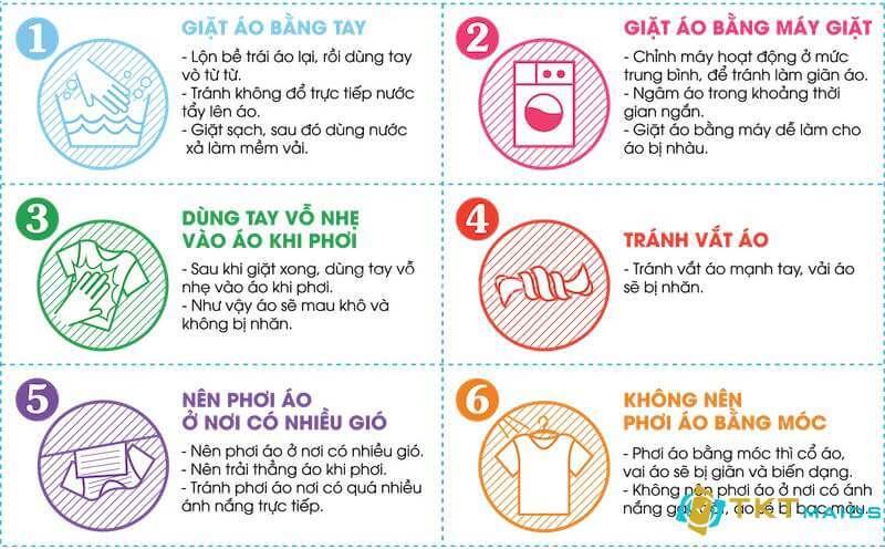 Hình ảnh: Đọc kỹ hướng dẫn sử dụng trước khi giặt quần áo
