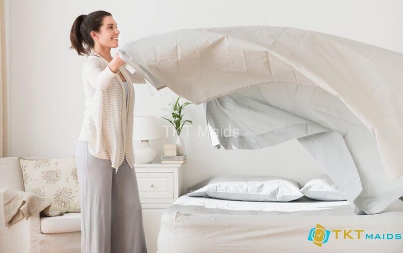 Hình ảnh minh họa: cách dọn dẹp phòng ngủ