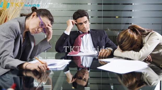 Hình ảnh: Làm việc nhóm không có hiệu quả