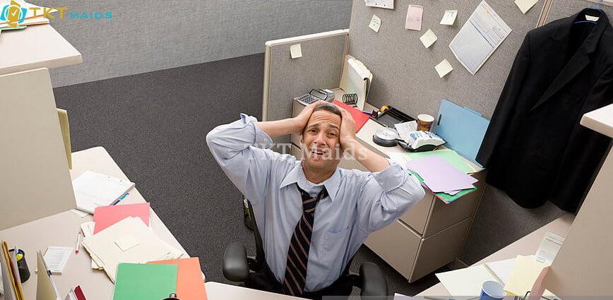 Nhân viên không thể tập trung vào làm việc
