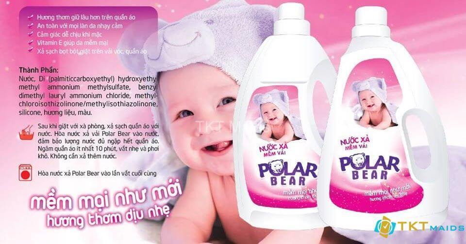 Hình ảnh: nước xả vải và em bé