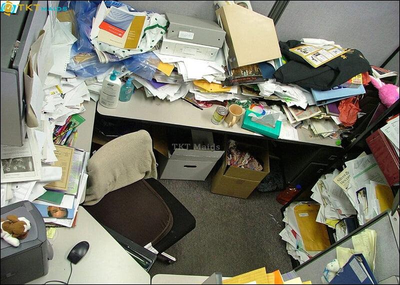Hình ảnh: Văn phòng bẩn như thế nào?