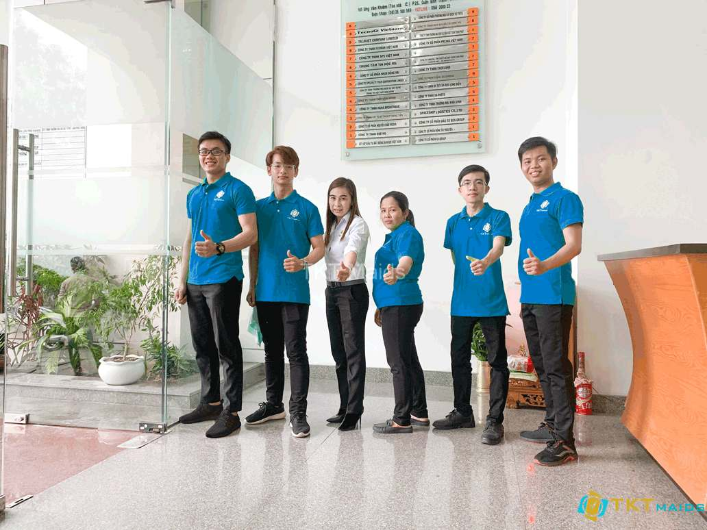 Hình ảnh: Đội ngũ nhân viên tạp vụ chuyên nghiệp