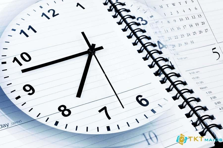 Hình ảnh: giúp bạn tiết kiệm được thời gian - lợi ích thứ hai của tạp vụ văn phòng