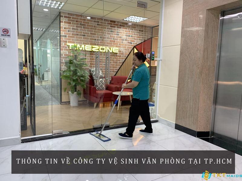 Công ty vệ sinh văn phòng tại TPHCM